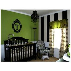 Elegant Modern Nursery Decor ❤ liked on Polyvore