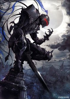 Anime, manga, and video game fan-art artworks from Pixiv (ピクシブ) — a Japanese online community for artists. pixiv - It's fun drawing! Art Anime, Anime Kunst, Fantasy Kunst, Dark Fantasy Art, Anime Art Fantasy, Armor Concept, Concept Art, Fantasy Character Design, Character Art