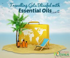 Make use of #essential_oils while #travelling.