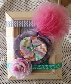Floral Headband Set on Etsy, $15.00