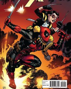 Marvel All New Wolverine comic issue 21 Limited 1 in 10 variant Marvel Comic Universe, Marvel Comics Art, Marvel X, A Comics, Captain Marvel, Cosmic Comics, Marvel Facts, Wade Wilson, Comic Book Characters