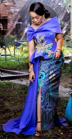 African fashion Trendy Asoebi Styles bei Diyanu The Kilt: Authentic Scottish Wear For A Modern Age A African Party Dresses, African Lace Dresses, African Dresses For Women, African Attire, African Fashion Ankara, Latest African Fashion Dresses, African Lace Styles, Ankara Styles, African Style