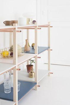 DIY Pastel Storage Shelving Unit - diy bibliotheque modulable heju-12
