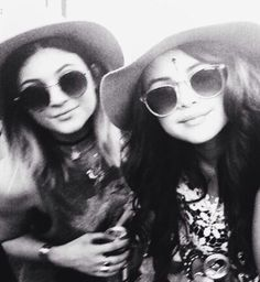 Kylie Jenner and Selena Gomez at Coachella