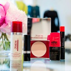 Start with the #ANEW Reversalist Day Lotion & Express Wrinkle Smoother, add a swipe of red lipstick and mega lashes for beauty that easily transitions from brunch to family dinner! #ANEWyou