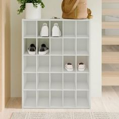 Beautiful 25 Pair Stackable Shoe Rack by ClosetMaid storage-sale from top store Shoe Cubby, Closet Shoe Storage, Shoe Storage Cabinet, Bench With Shoe Storage, Closet Rod, Storage Drawers, Storage Boxes, Shoe Closet Organization, Boot Storage