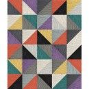 Made You Look 10 Triangle Patchwork - Multi (8' x 10') - Shop Style - Shop