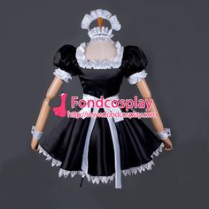 It may arrive early, that's good~ BUT! It WON'T EXCEED the perio d normally. Color: As the picture show. Sissy Maid, Sissy Boy, Maid Uniform, Maid Dress, Crossdressers, Cosplay Costumes, Custom Made, Harajuku, Carnival