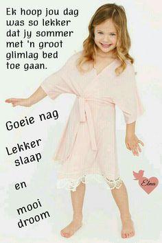 Evening Greetings, Bible Study Notebook, Goeie Nag, Sleep Tight, Afrikaans, Good Night, Inspire Quotes, Grandchildren, Foods