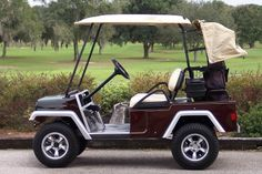 Melissa's Golf Cart Custom Body Kits - click 4 Body Kits Custom Golf Cart Bodies, Custom Golf Carts, Golf Cart Body Kits, Custom Body Kits, Vintage Cars, Classic Cars, Retro Cars