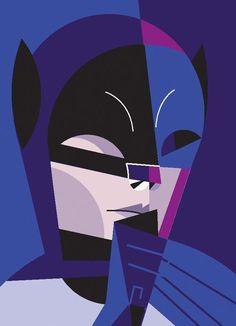 """Batman"" by Pablo Lobato. [Graphic Design Illustration]"