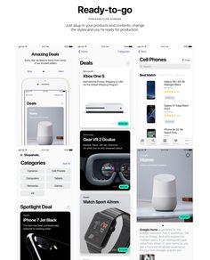 UI8 — Products — Shopaholic iOS 11