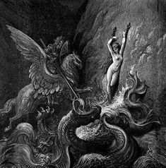 Gustave Doré ilustrou algumas das maiores obras canônicas da literatura. Do Dom Quixote de Cervantes à Divina Comédia de Dante, de O Corvo de Poe à Gargântua e Pantagruel de Rabelais, seu traço - quase expressionista - consegue dar corpo e espírito aos personagens.