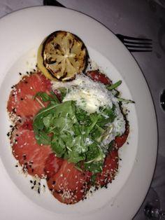 L'escale Restaurant – Greenwich, CT Steak Tartare, Wine Recipes, Wines, Risotto, A Food, Favorite Recipes, Restaurant, Beef, Ethnic Recipes
