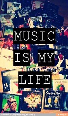 Anyone else feel like this?? I seriously can't live without music. I listen to it every day. Mostly bands like: Falling in Reverse, Black Veil Brides, Blink182, Sleeping With Sirens, My Chemical Romance, Bring Me the Horizon, Seether, Green Day, Three Days Grace and Breaking Benjamin.... Well I could go on for pages and pages of them but you get the idea.. ;)