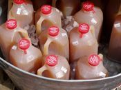 Apple Cider: How to make and bottle your own homemade Apple Cider (directions, recipe, with photos and free)