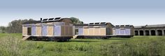 Train, Recycled Materials, Apartments, Strollers