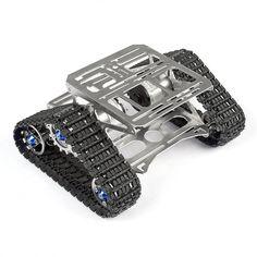 ALL Metal Robot Tracks Development Platform FPV for Arduino
