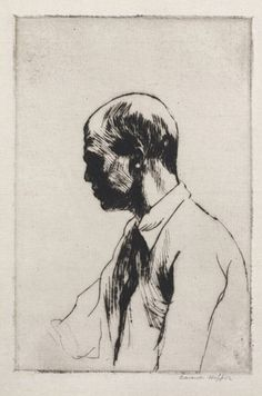 Edward Hopper Self-Portrait 1928