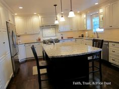 From Outdated to Updated Kitchen Transformation