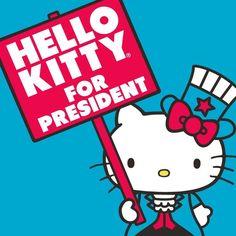 Hello Kitty for President