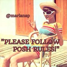 ❤️PLEASE FOLLOW ALL POSH RULES!❤️ ❤️I love mentoring & helping fellow Poshers reach their goals. Before officially helping you, I vet your closet to verify you follow all Posh Rules. The biggest Posh Violations I have noticed are ❌Perfumes❌Lotions❌NWOT Underwear❌ Home Goods❌Kids' items❌Men's items❌Electronics❌Advertising Sales at other sites. In short, if you're selling any unsupported items now, please understand that I really can't offer major help until you DELETE all of the Violations…