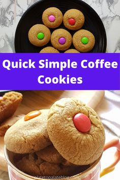 This Coffee Cookies recipe is so quick, easy, and simple and made with few ingredients, which is readily available in your kitchen.