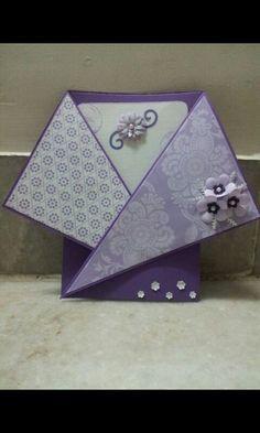 Criss cross card- another type of crisscross card