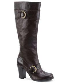 Born Shoes, Alika Boots - Dk Brown - Macy's