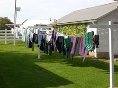 Wash Day in Amish Country