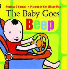 """Kirkus Reviews: """"Every once in a very great while a book is published that actually works better as a board book for babies than as a conventional paper book for slightly older readers. This joyous celebration is one of them....This pink baby (with a tuft of black hair) is clearly the best thing that ever happened to this set of parents, and this book is one of the best things that will happen to those babies lucky enough to encounter it."""""""
