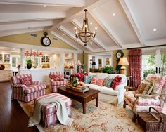 French Country Family/Living Room