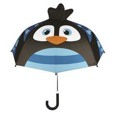 Our kids pop-up penguin umbrella in 3-D style really comes alive! It opens to…