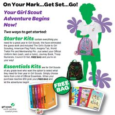 gsnccp merchandise on pinterest girl scouts troops and