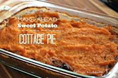 Cozy and oozy, two of my favorite things. This one's perfect for our sweet potato fans.