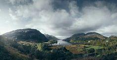 Loch Shiel, Scotland No it's not, it's Araluen. Get it right.