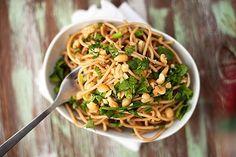 spicy thai peanut noodles