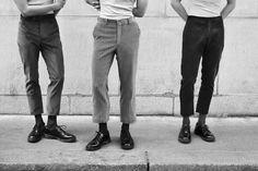 "laragiliberto: """"La tendence"" in L'officiel Hommes, photography by @laragilibertostyling by Jérome André, model Tristan Ridel @Elite Paris """
