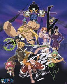 Poster One Piece Thriller Bark Portrait