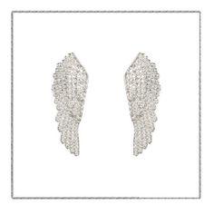 Have you got your wings yet?  #silver #angel #wings #earring #latelita #london #jewellery #jewelry #joyas #bijoux #christmasgift #christmas #sparkle #dazzle #knightsbridge #kensington #designer #fashion #fblogger #fashionista #fashionblogger #stylechat #styleblogger #talisman #guardianangel #latelitalondon #shinebrightlikeadiamond
