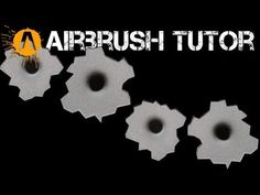 "Airbrush Tutorial- ""Moonrise"" Part Three - Painting Angel Wings - YouTube"