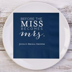 Before the MISS Becomes mrs. Personalized Bridal by BeforeTheIDos #beforetheidos #beforetheidmissbecomesmrs #frommisstomrs