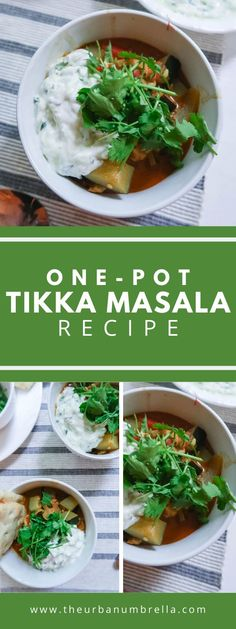 This non-traditional chicken tikka masala recipe is rich, spicy, and full of flavor. Serve over rice and with cucumber raita sauce for a truly irresistibly delicious meal. Easy Family Meals, Frugal Meals, Easy Meals, Family Recipes, Curry Recipes, Healthy Recipes, Easy Recipes, Healthy Food, Balsamic Vinegar Chicken