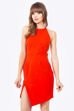 Andrea red hot dress