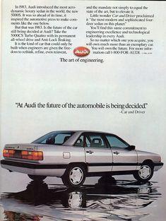 1986 Audi 5000S Quattro Sedan - Productioncars.com