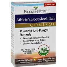 Forces of Nature Organic Athlete's Foot and Jock Itch Control 11 ml