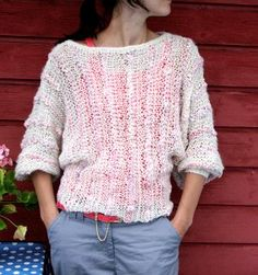 Late Summer Sweater ~ {Knit ~ Intermediate}