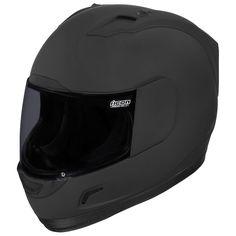 Icon Alliance Dark Helmet - Cycle Gear