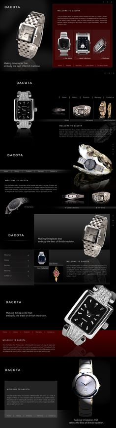 #webdesign we delivered for a premium #watch company #website #webdev #design #graphicdesign #inspiration #lifestyle #accessories #webdesignerforhire