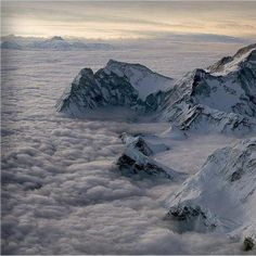View from Mount Everest